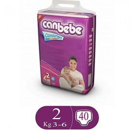 Canbebe Comfort Dry Size 2 (40 Pcs)